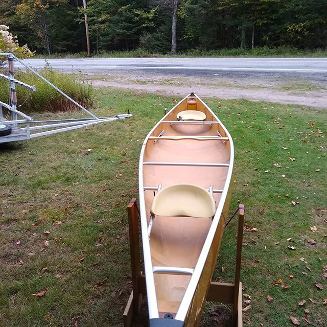 Looking for an end of the season deal on an Ultra-light Kevlar Canoe? . This used Wenonah Minnesota II is priced at $2000! It has tons of life left and is ready to paddle! . . . Call or message us today to arrange for pick up! . #usedcanoe #paddleadk #kevlarcanoe #newtoyou #ultralightcanoe #forsale