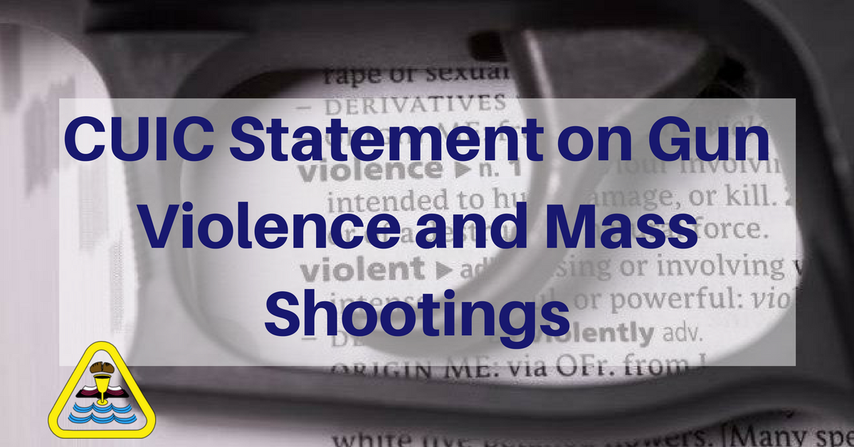 Churches Uniting in Christ's (CUIC) Gun Violence and Mass Shootings