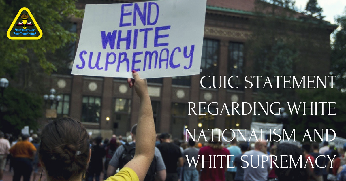 ChurchesUniting in Christ's (CUIC) Statement on White Nationalism and White Supremacism