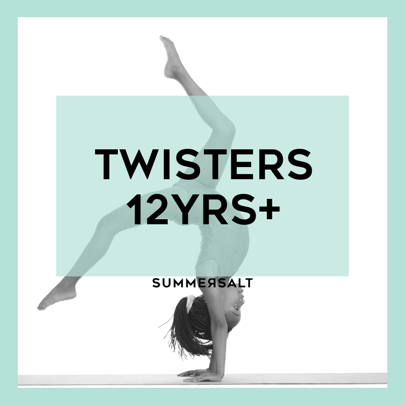 The Twisters program will allow your gymnastic loving child to spend 120 mins a week working on gymnastic specific skills, including tumbling, strength and flexibility in a fun environment.  Duration: 120mins  Cost: $30* ($60 fortnightly direct debit)  Classes: Wednesdays and Fridays