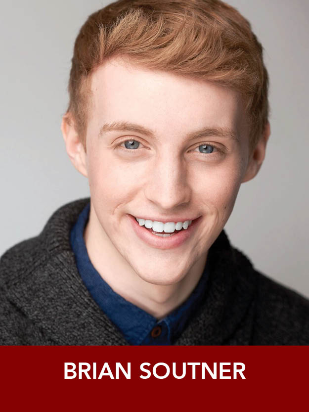BRIAN SOUTNER  ( Sailor ) is a rising Junior B.F.A. Acting student at Point Park University's Conservatory of Performing Arts, where he recently did  42nd Street . He is so excited to be working with Eileen Grace again for  Anything Goes !