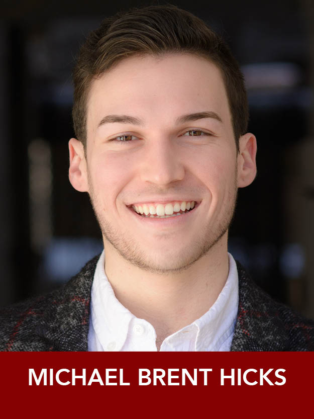 MICHAEL BRENT HICKS  ( Sailor ) is a 2018 graduate of The Boston Conservatory. Reagle debut! He will be moving to NYC in September to pursue his dream of Broadway. He is also a freelance stage manager. #craft @michaelbhicksjr  michaelbrenthicks.com