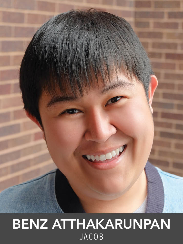 Benz Atthakarunpan  ( Jacob ) is so grateful to be making his Reagle Music Theatre debut in one of his favorite shows! He is from Bangkok, Thailand, and he just graduated from The Boston Conservatory with an MFA in Musical Theatre.