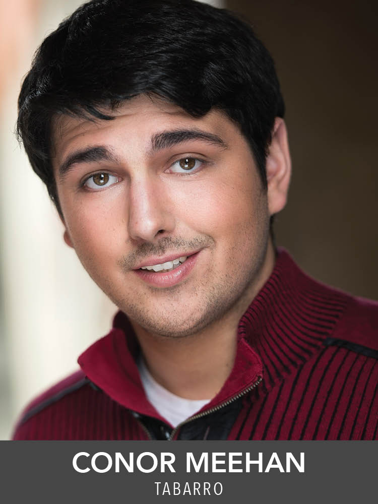 Conor Meehan  ( Tabarro ) is very excited to be performing again at RMT. Reagle:  42nd Street  (Mac),  Anything Goes  (Henry T. Dobson),  The Music Man  (Constable Lock),  The Most Happy Fella  (Jake),  Mame  (Stage manager/ensemble) and  The Sound of Music  (Elberfeld). Catholic University of America 2018. Conor-meehan.net