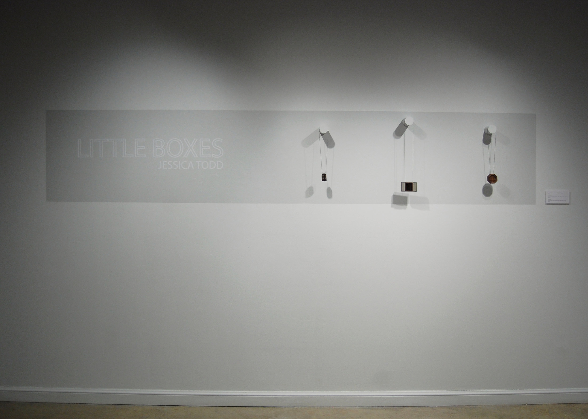 Figure 19:  Little Boxes  Installation View 4