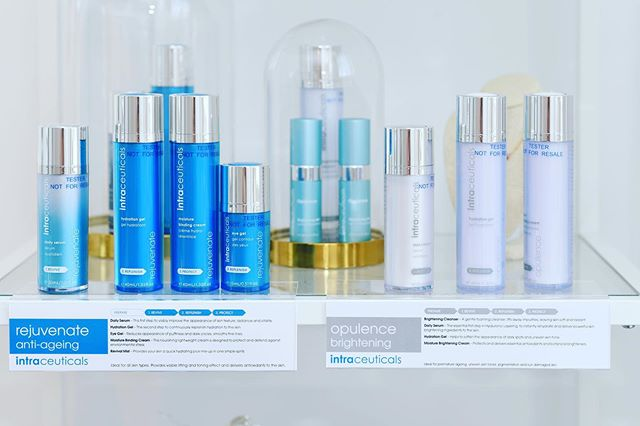 "Don't forget to pick up your @intraceuticals_official products at the studio! And here is why! Intraceuticals revolutionised the use of multi-weight Hyaluronic as both an exceptional hydrator as well as an effective delivery system for anti-ageing and specific concern ingredients. Cutting edge research led to the development of Intraceuticals' patented ""3 Step Hyaluronic Layering"" technology which is the foundation of Intraceuticals skincare.  1 - Satiate skin micro HA and actives  2 - Surround cells in an active reservoir to sustain day-long medium HA & more  3 - Bind the matrix in, keep dryness and free radicals out large HA as barrier"