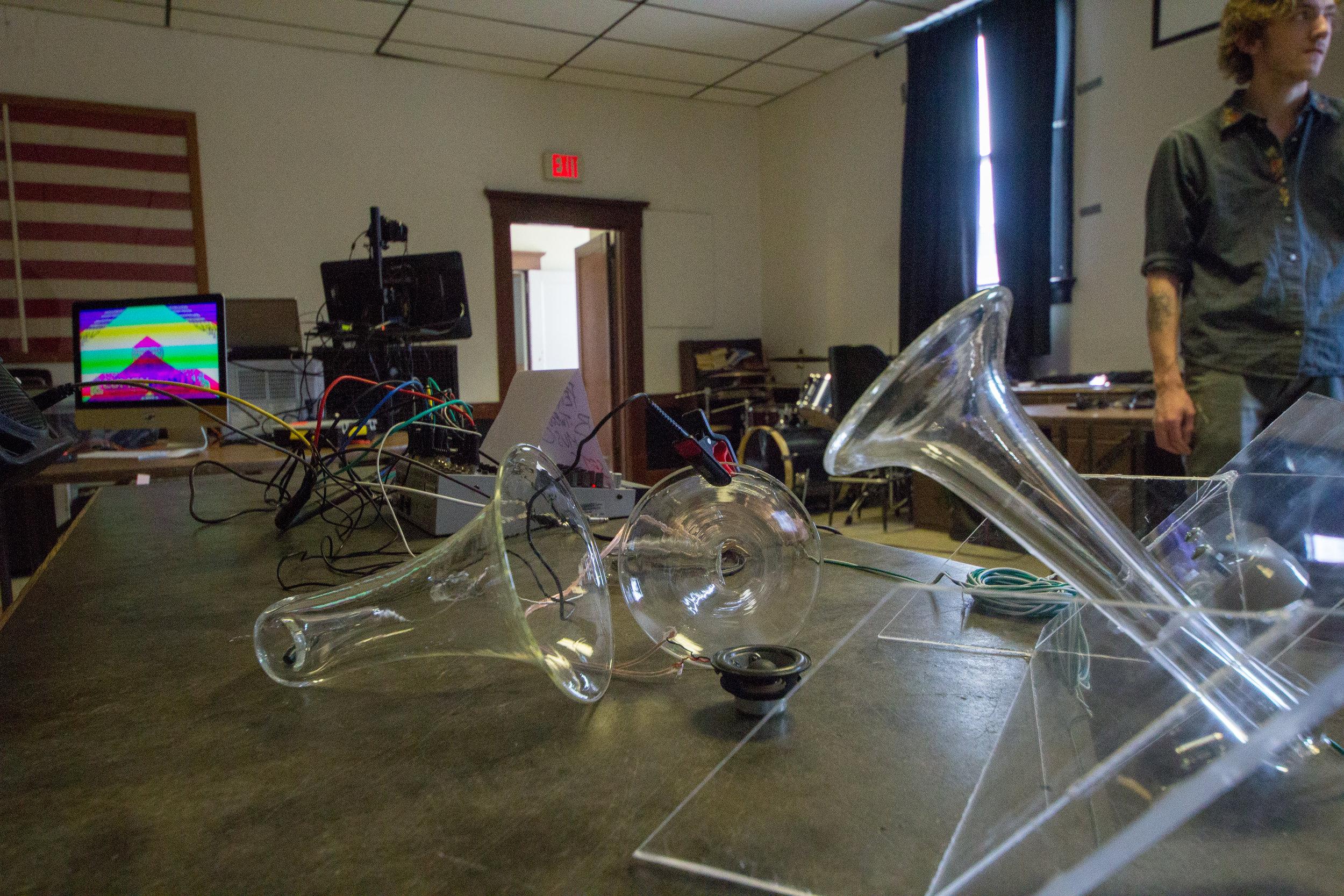 Sound Installation by Jesse Blumenthal - Photo: Dónal Cían Lakatua