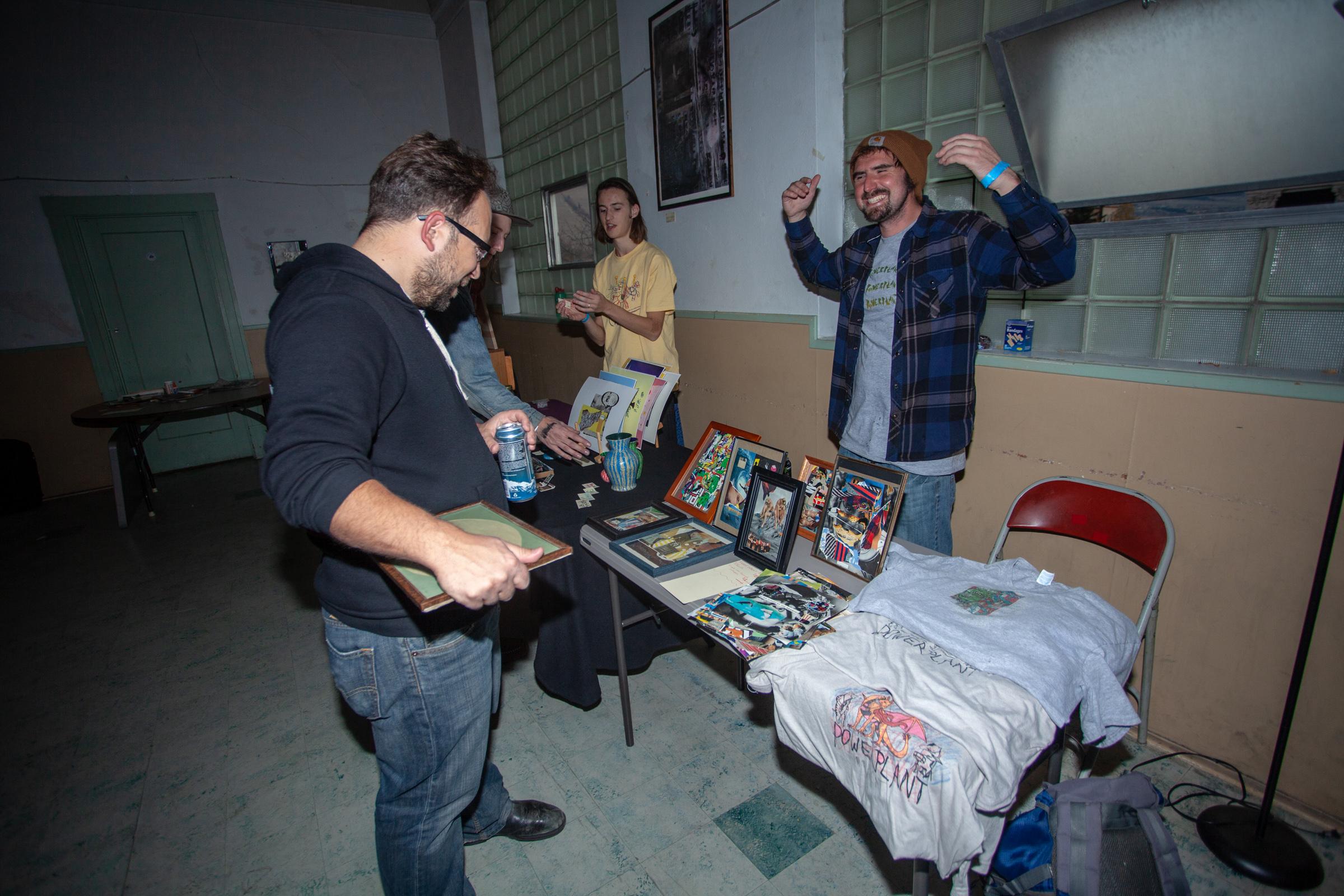 Jay Bruns, Dusty, Koby Silverman - Photo: Dónal Cían Lakatua - GCR Fest 2018