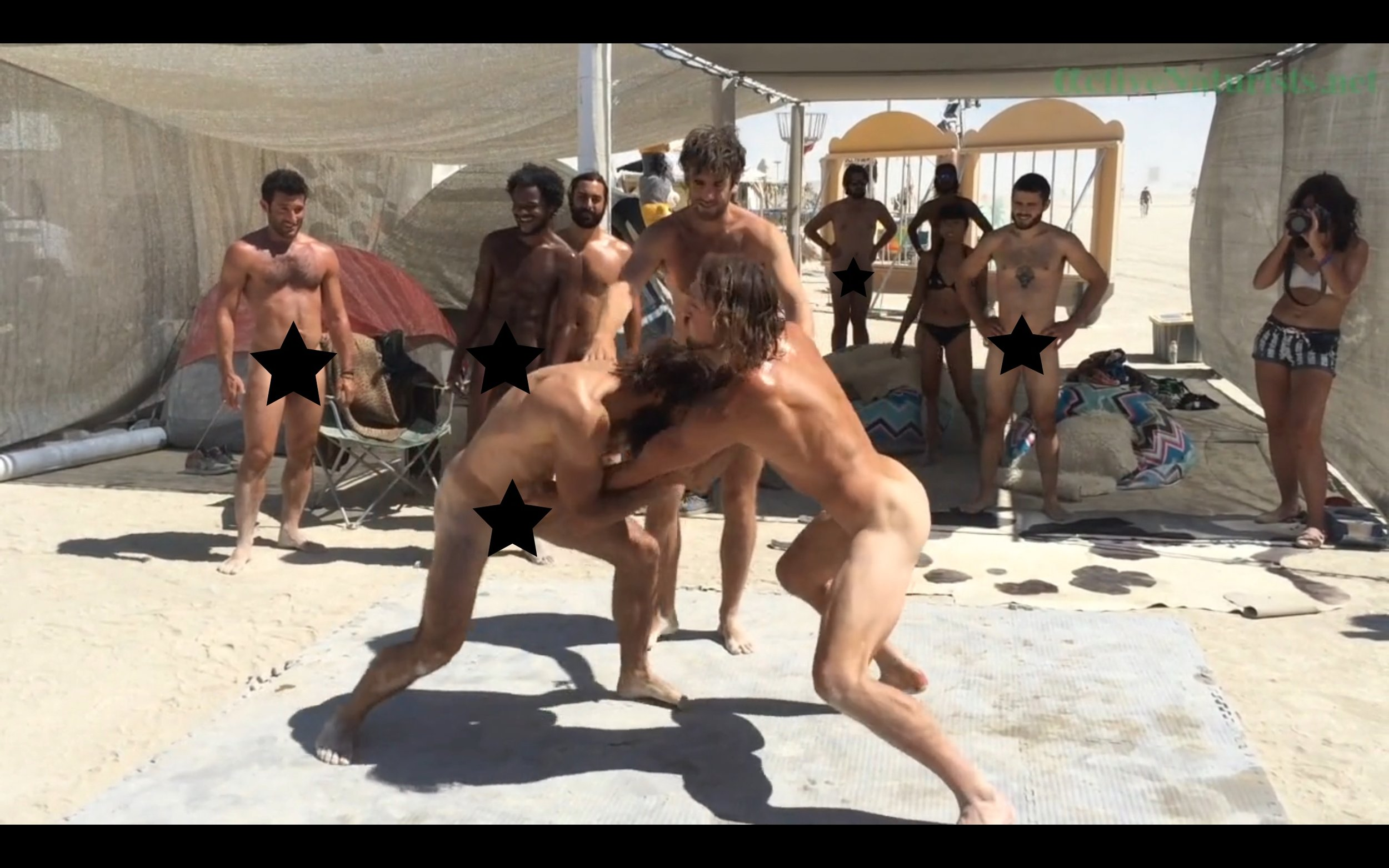 This Video Of Male Nude Wrestling At Burning Man Is Reason Enough