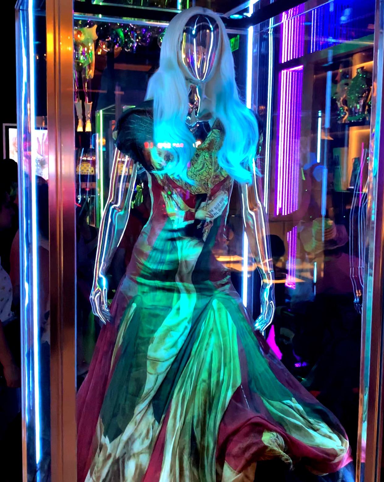 Lady Gaga Alexander McQueen Haus of Gaga Las Vegas.JPG