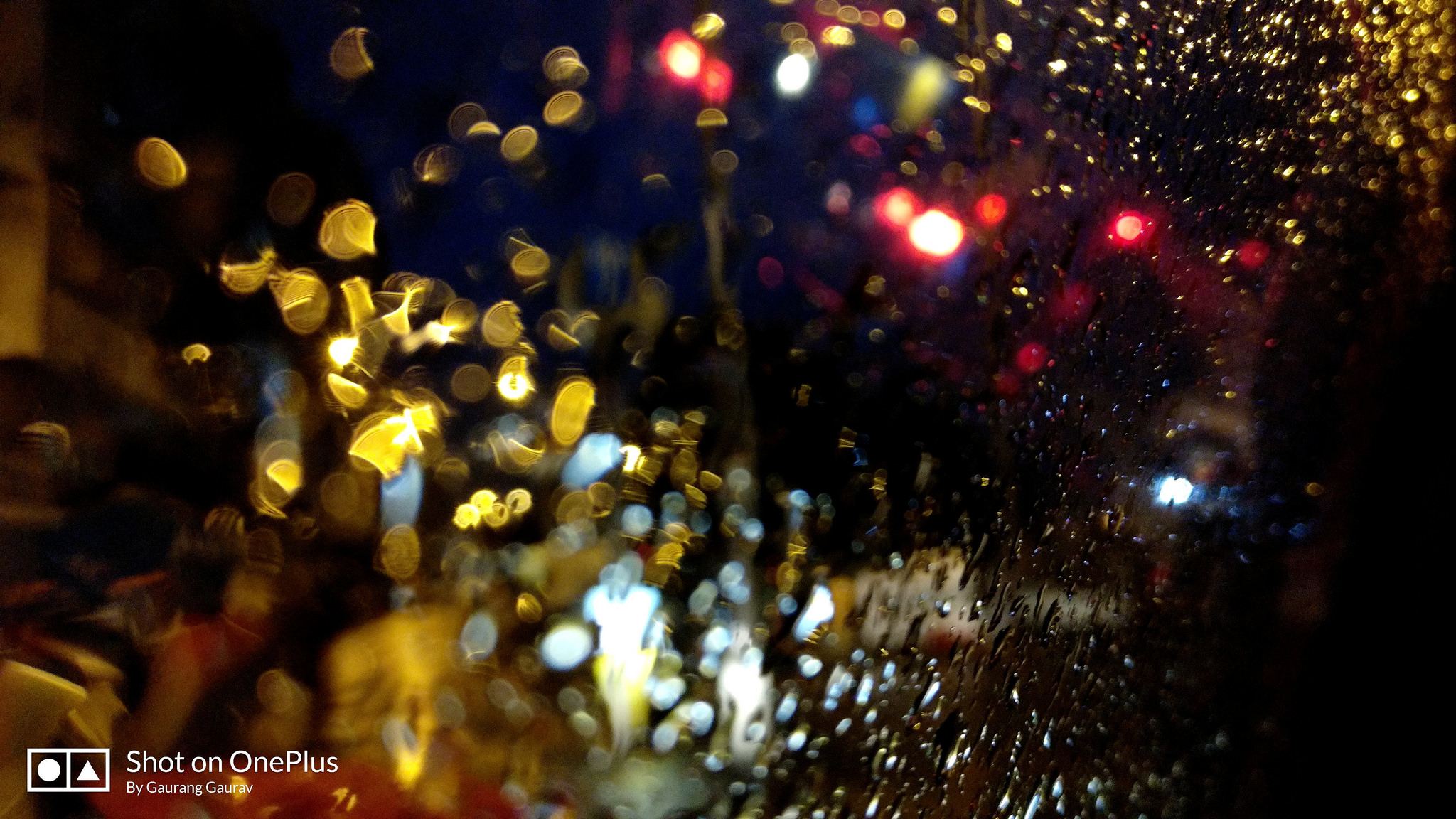 Rain on my window