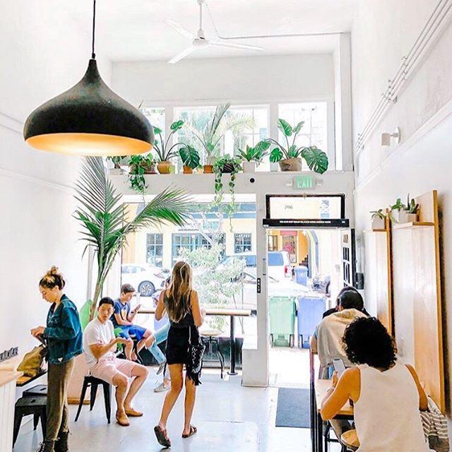 an açaí oasis🌿 . . . #cafe #acai #berkeley #elmwood #bowls #smoothies #local #oasis 📷: @ryangenji