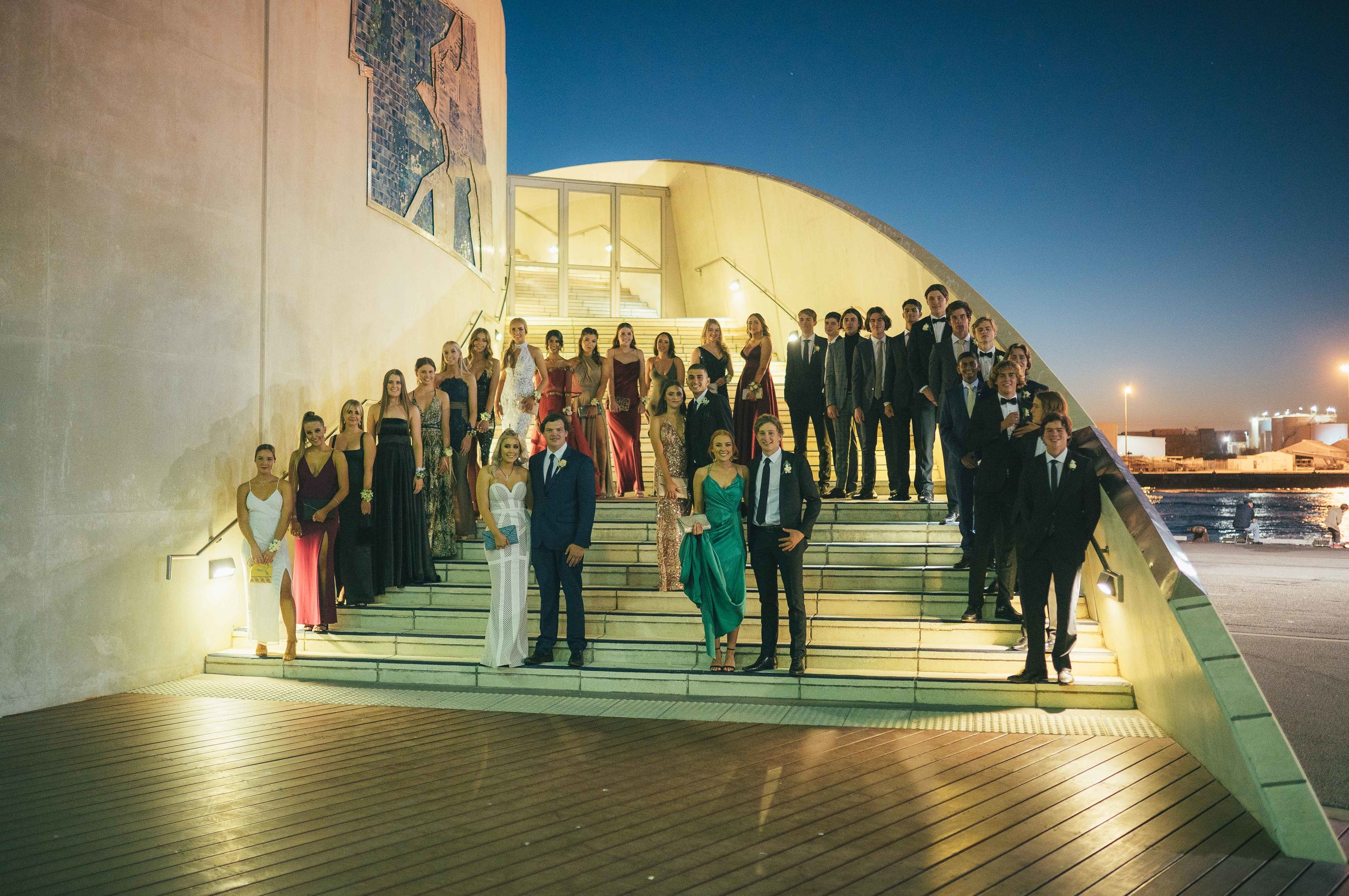 perth event photography ball fremantle school pres befores