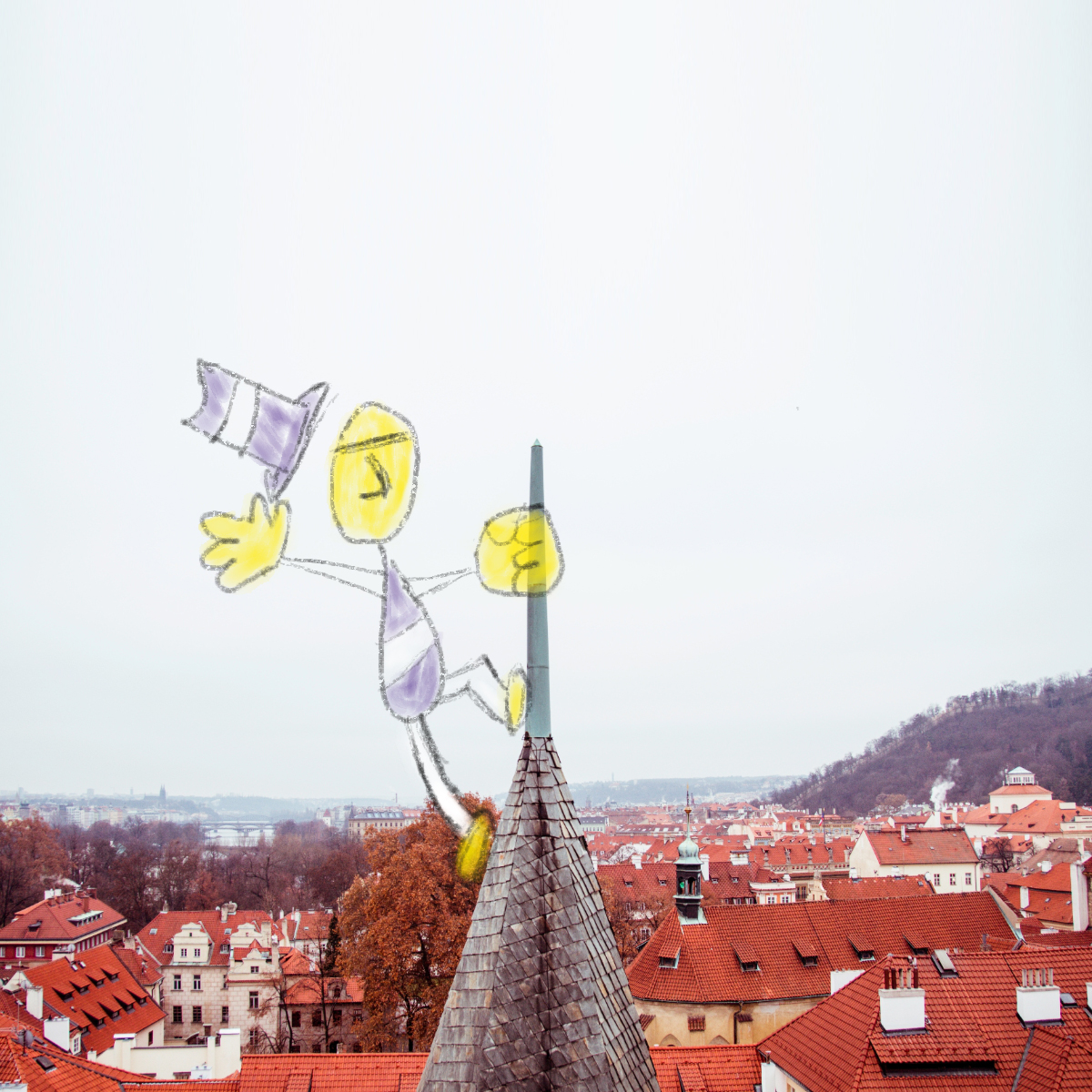 Note8 Illustration 3 | Climbing a spire