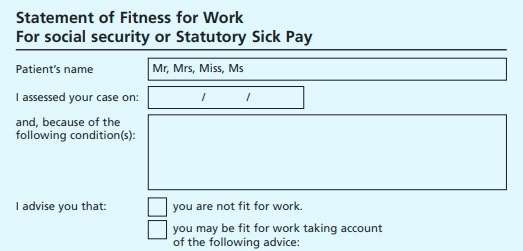 Need a Doctors sick note? - Read on and find out how to request online…