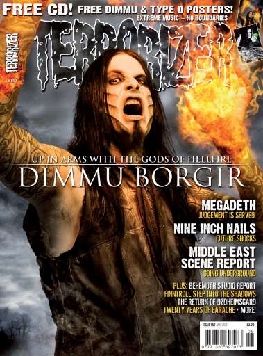 Augustine Featured - May 2007 - In Terrorizer Magazine Issue #157 in Fear Candy CD #41 March 2008 with our Song