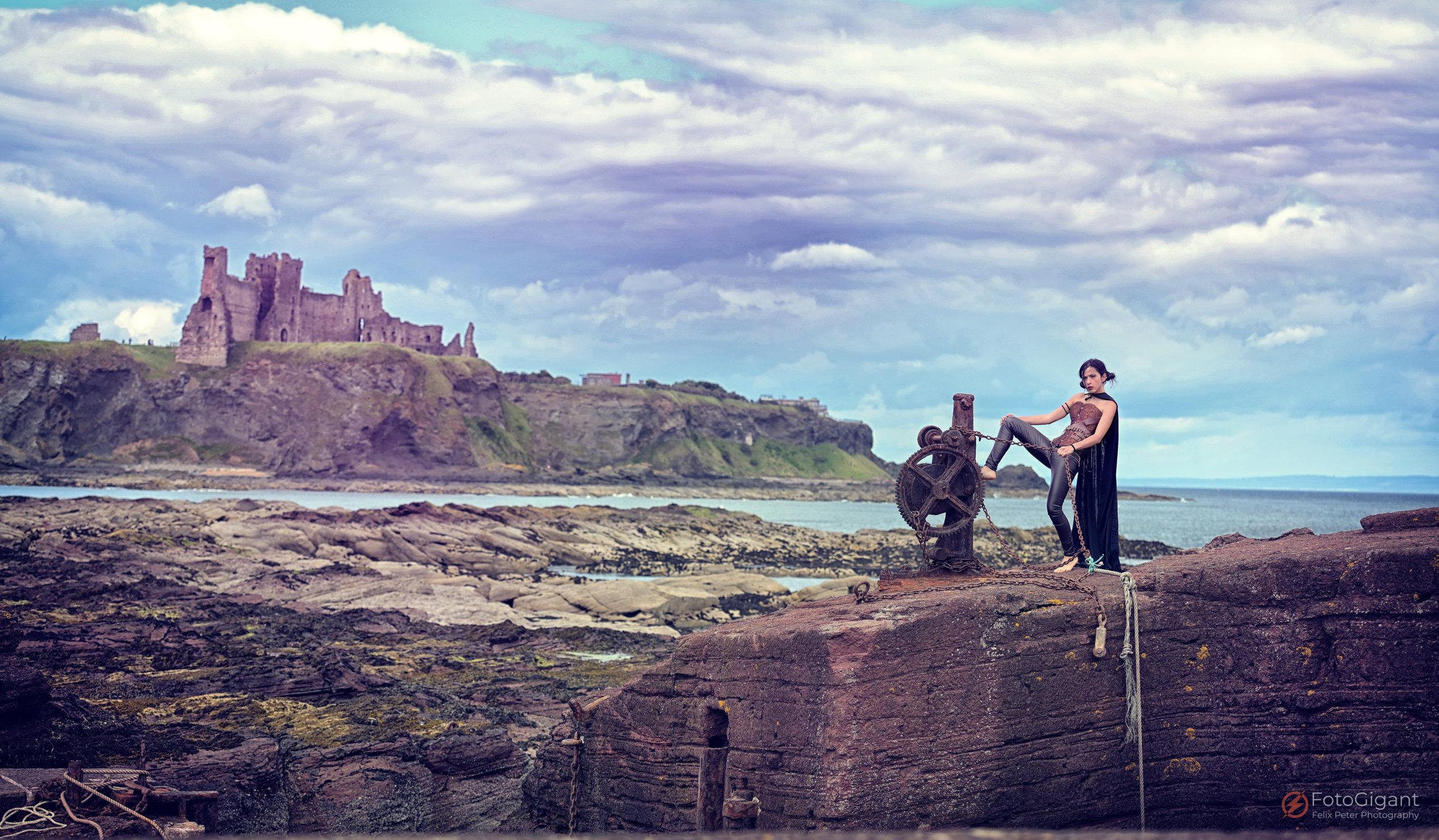 Castle Tantallon [Scotland]