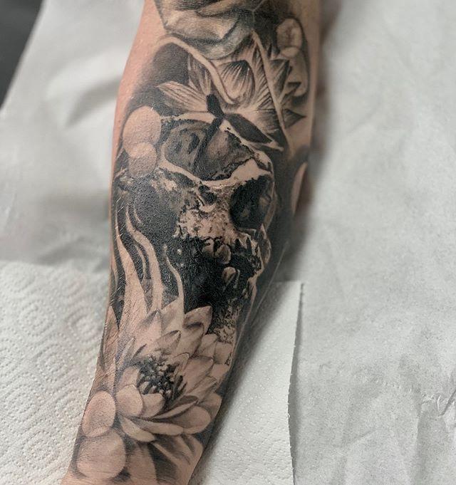 Grabbed a healed shot of Joes arm #healed#skinart#tattoo#tattoos#healedtattoo#uktta#bng#chester#chestertattoo