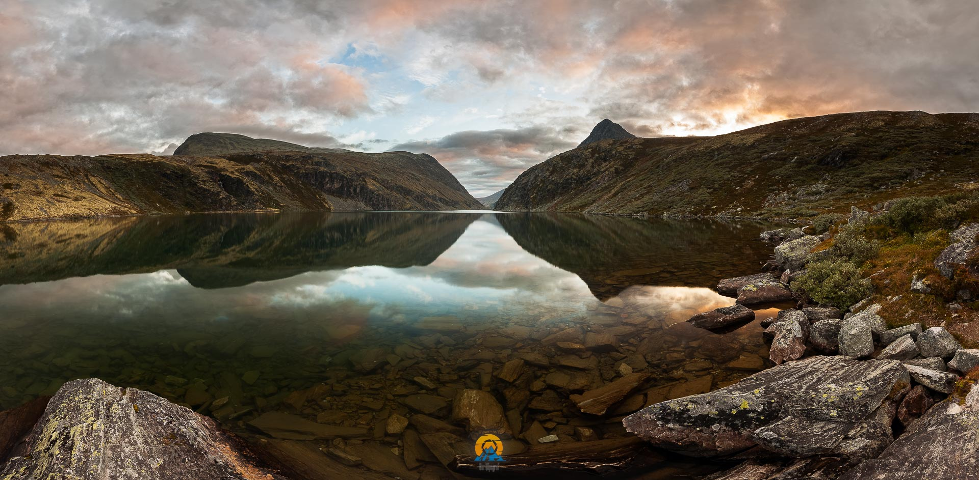 Sonnenaufgang über Rondvatnet