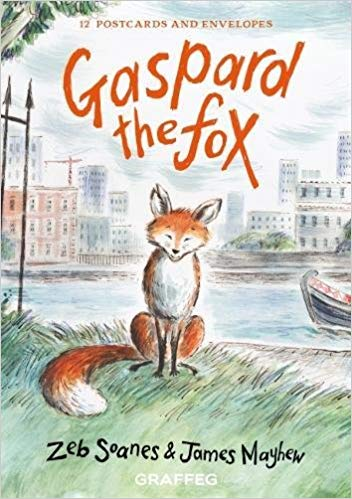 Gaspard the Fox postcard pack now available to pre-order
