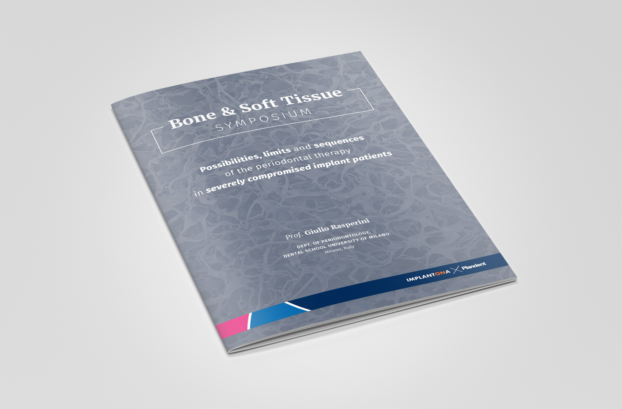 Bone & Soft Tissue Symposium brochure , front cover
