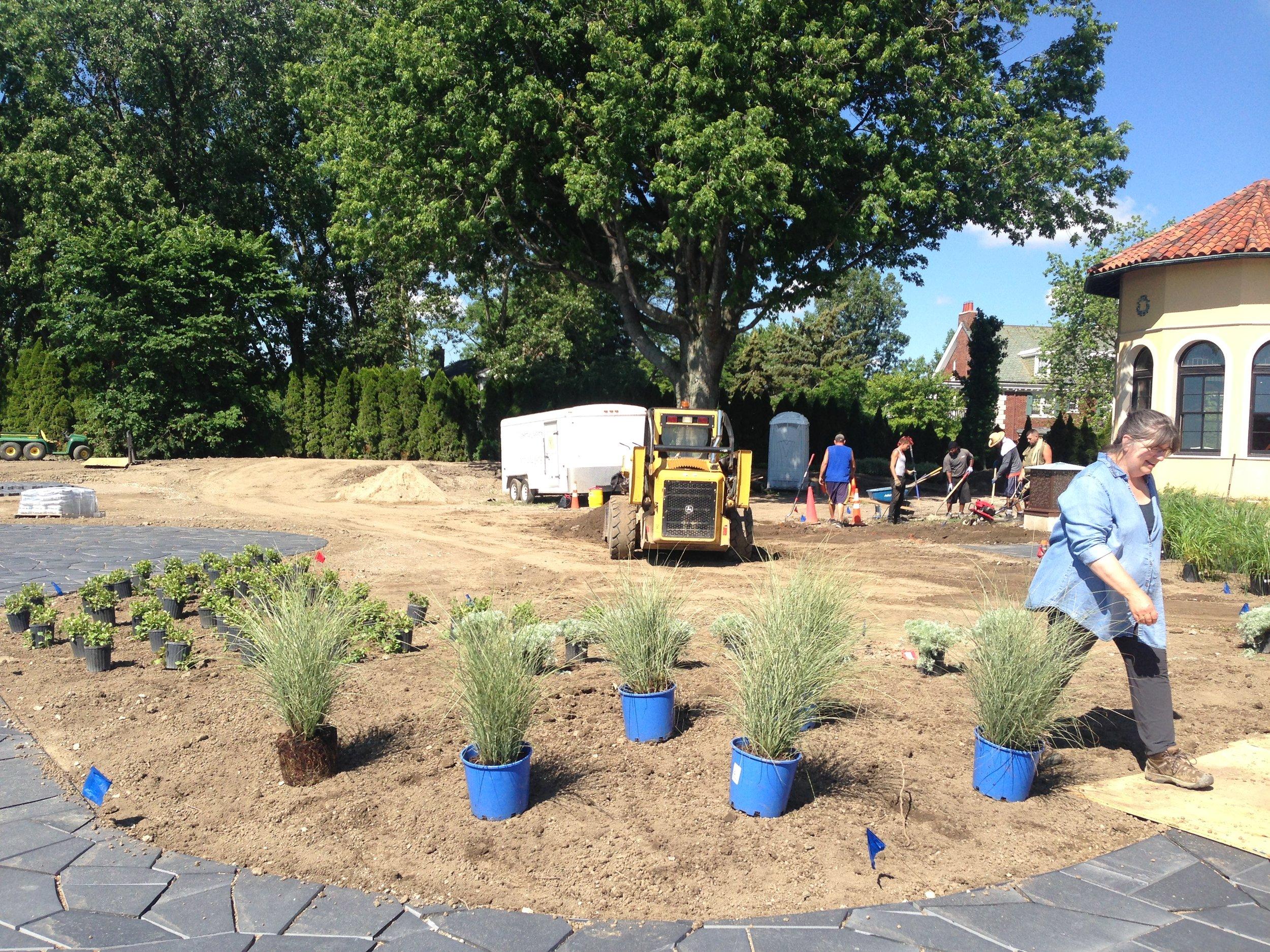 Plantings in West Bloomfield, MI, Metro Detroit
