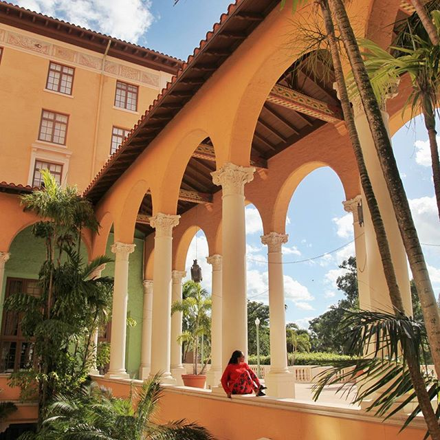 Such a beautiful hotel: Spanish-influenced architecture and a pastel color scheme #BiltmoreHotel