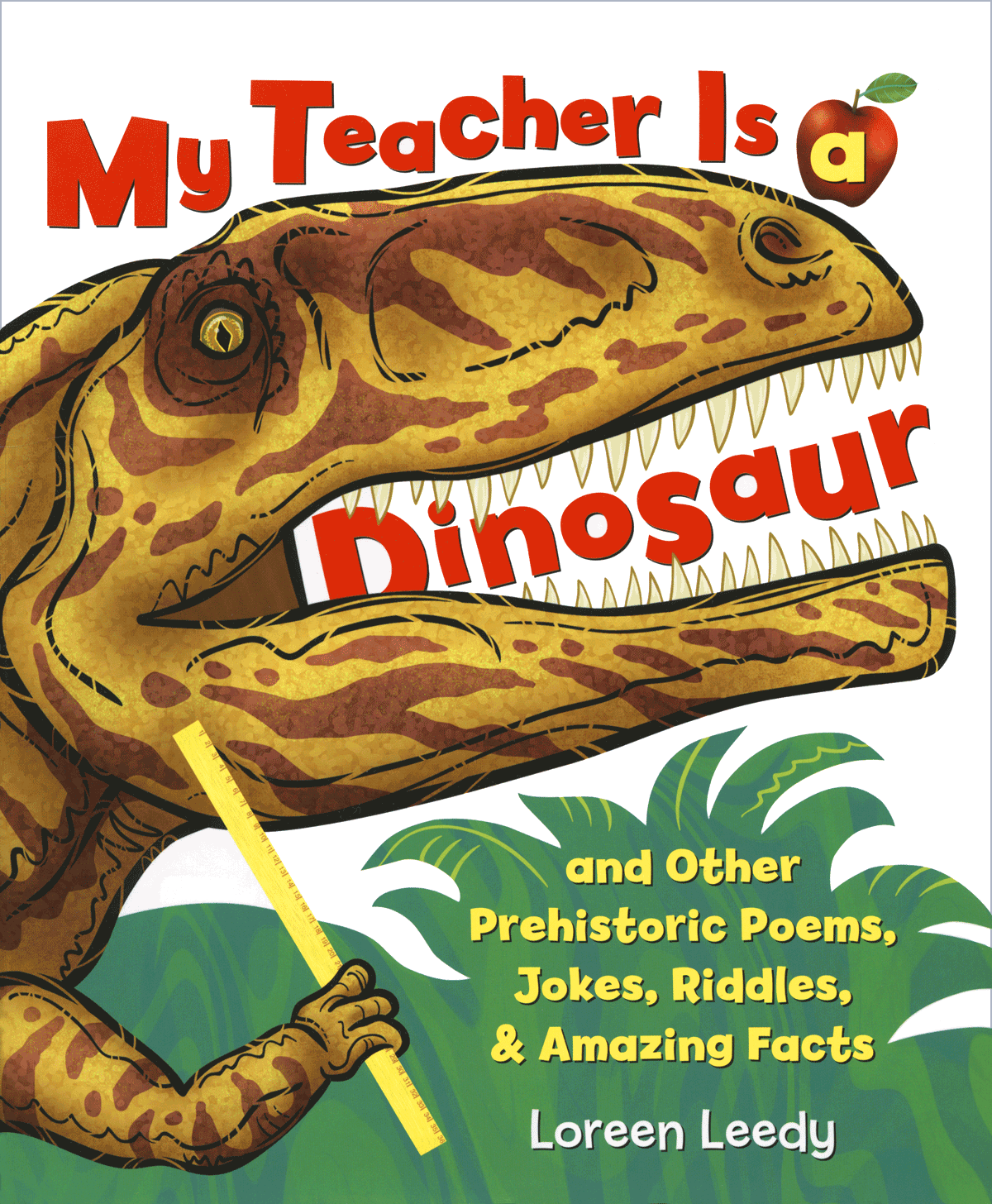 Click cover for FREE printable pages to go with  My Teacher Is a Dinosaur!