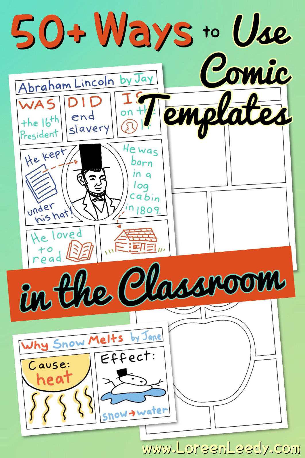 50+ ways to use comic strip templates in the classroom for any subject or grade level