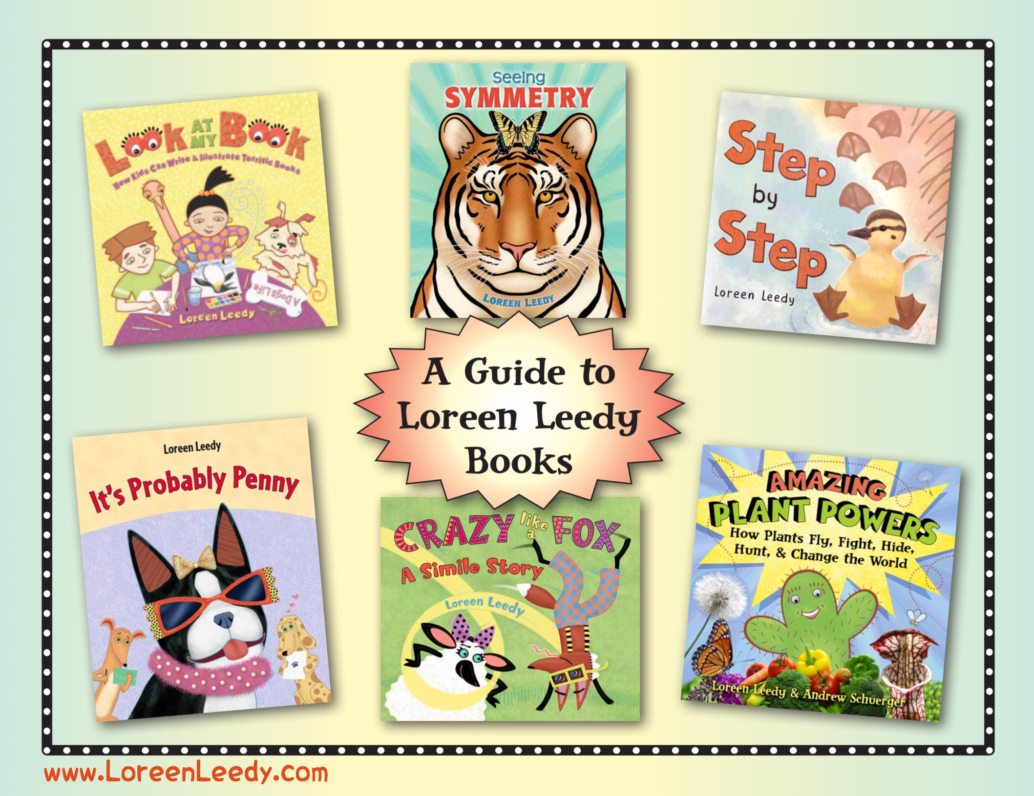 The cover image from the   Guide to Loreen Leedy Books  , a free downloadable PDF
