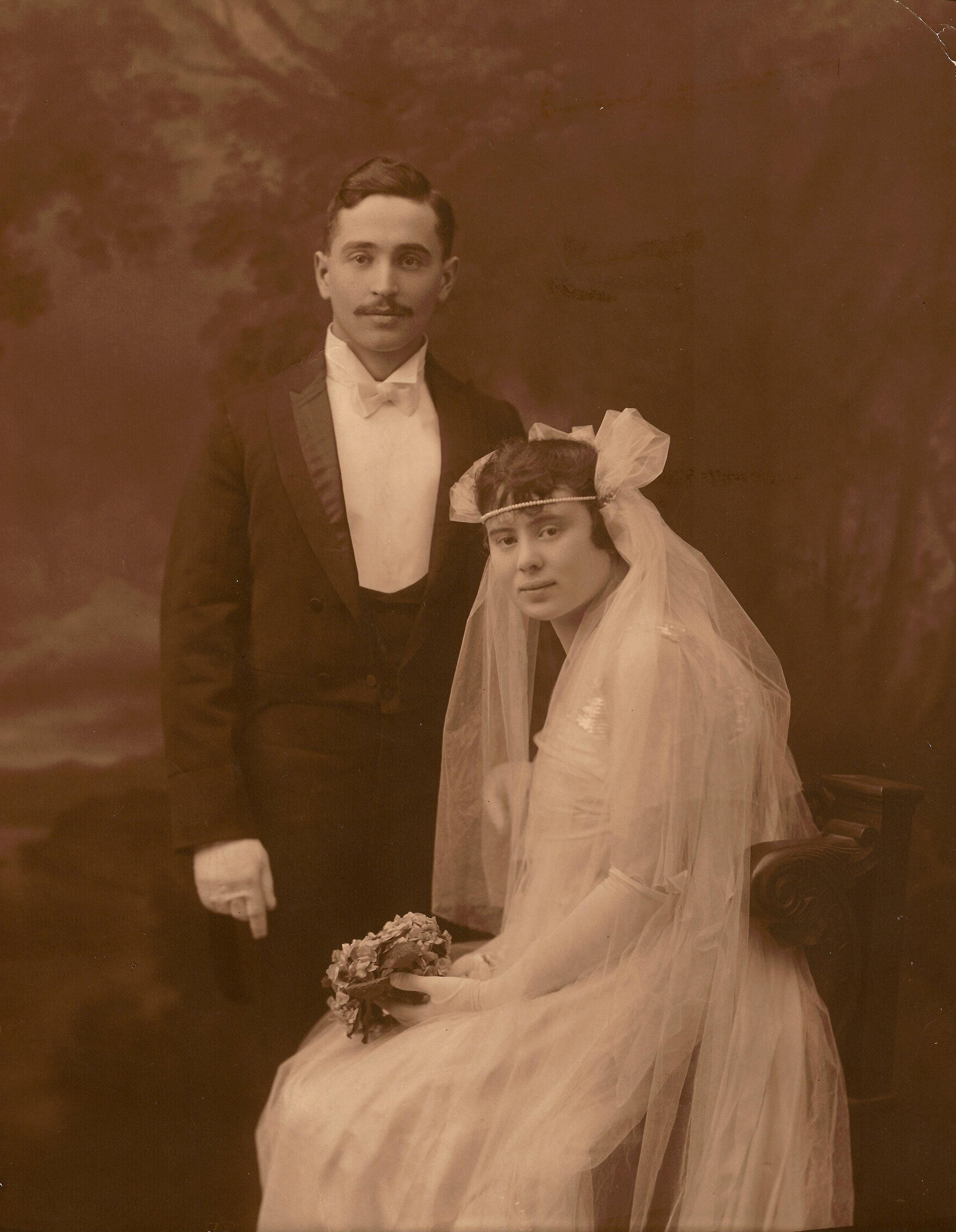 Morris and Dora Petlock Cohen (1917)