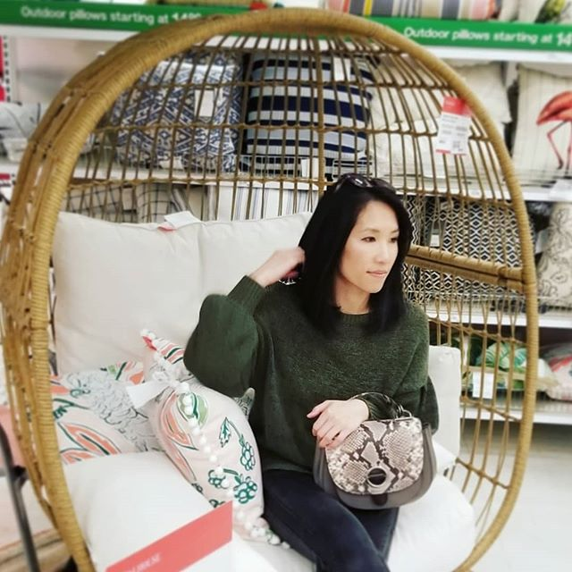 Happy Monday!!! I spotted this adorable egg-shaped patio chair @target this weekend! What a cute unique looking chair that can instantly upgrade your patio or even indoor living space!  Visit the blog for a new good finds post about this whole collection by #opalhouse ! . . . . .  #targetfinds #opalhousetarget #targetdecor #targetfurniture #targethome #chairdesign #outdoorfurniture  #patiofurniture #patiodecor #patiodesign #patioset #patioseating #patioliving #patiomakeover #patiotime #ourdoorspace #outdoordining #outdoorpillows #outdoorlivingspace #outdoorliving #outdoordesign #outdoorchair #outdoorspaces #outdoorentertaining #summerdecor #outdoorlounging #patiodining