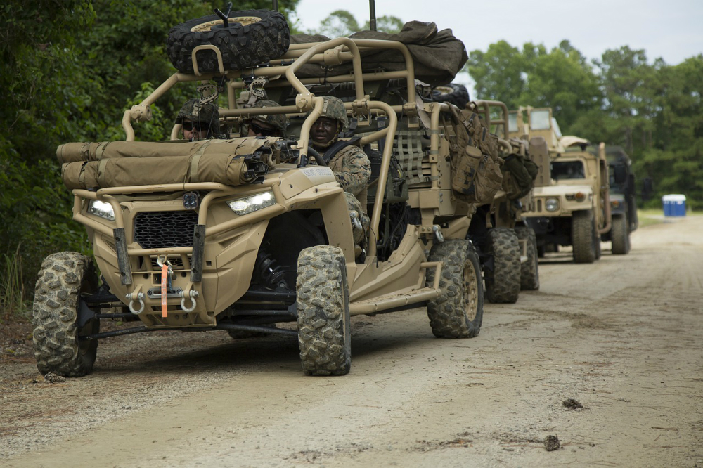 Special Operations - Planck's drones have been on multiple special forces trucks and other vehicles.