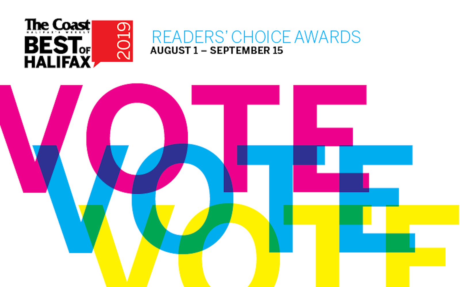 Nominated for Best Country artist The Coast's Reader's Choice Awards 2019  Results will be announced in November!