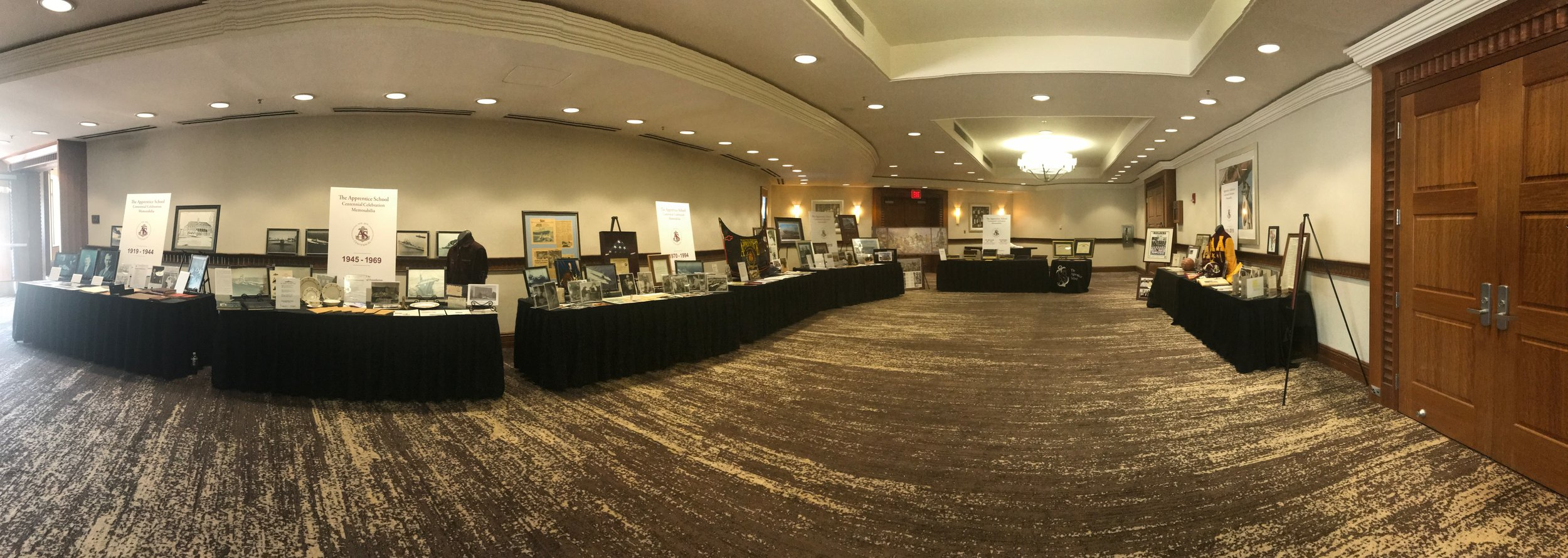 Centennial Gala Event - Memorabilia Display
