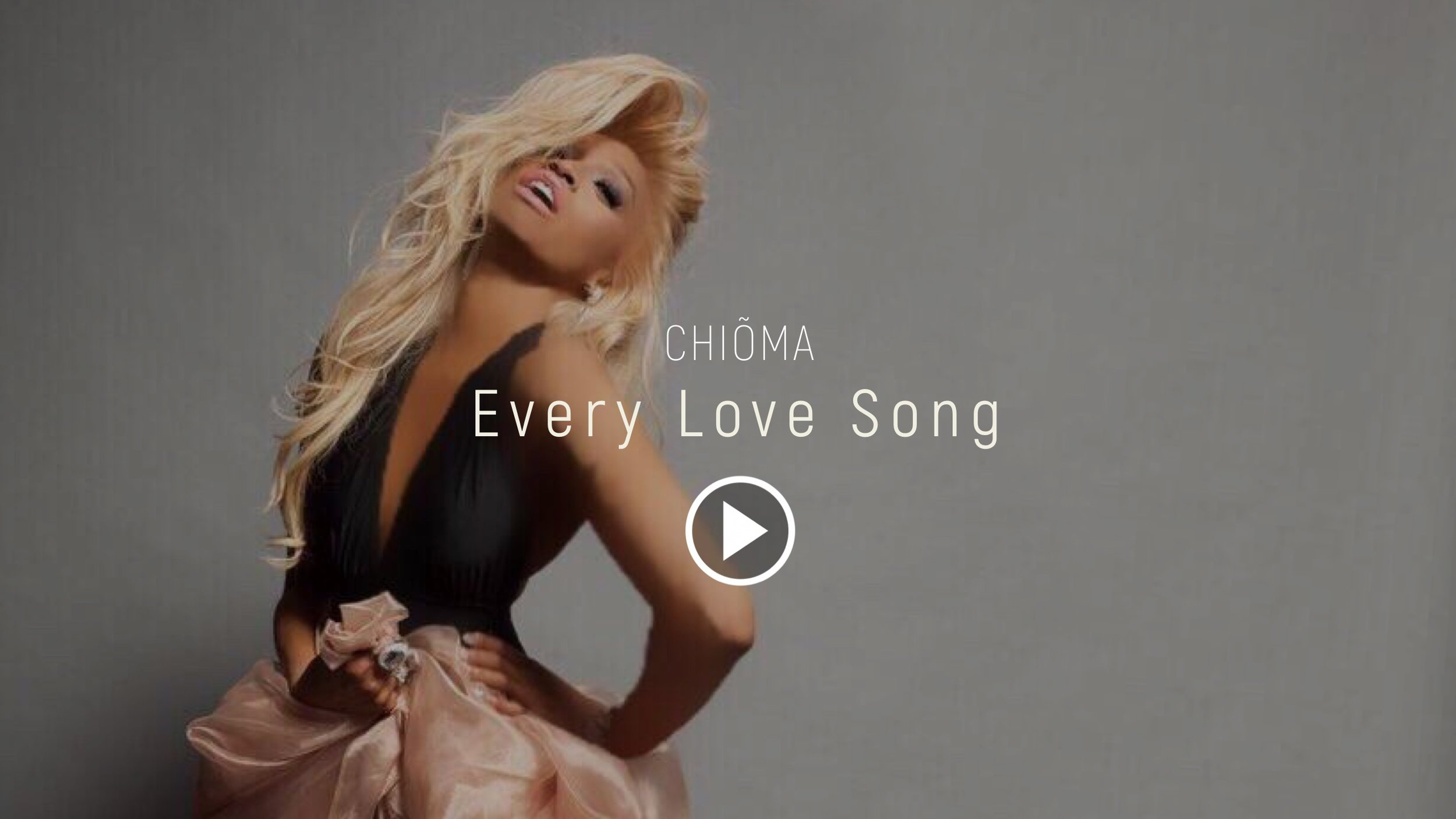 chioma every love song