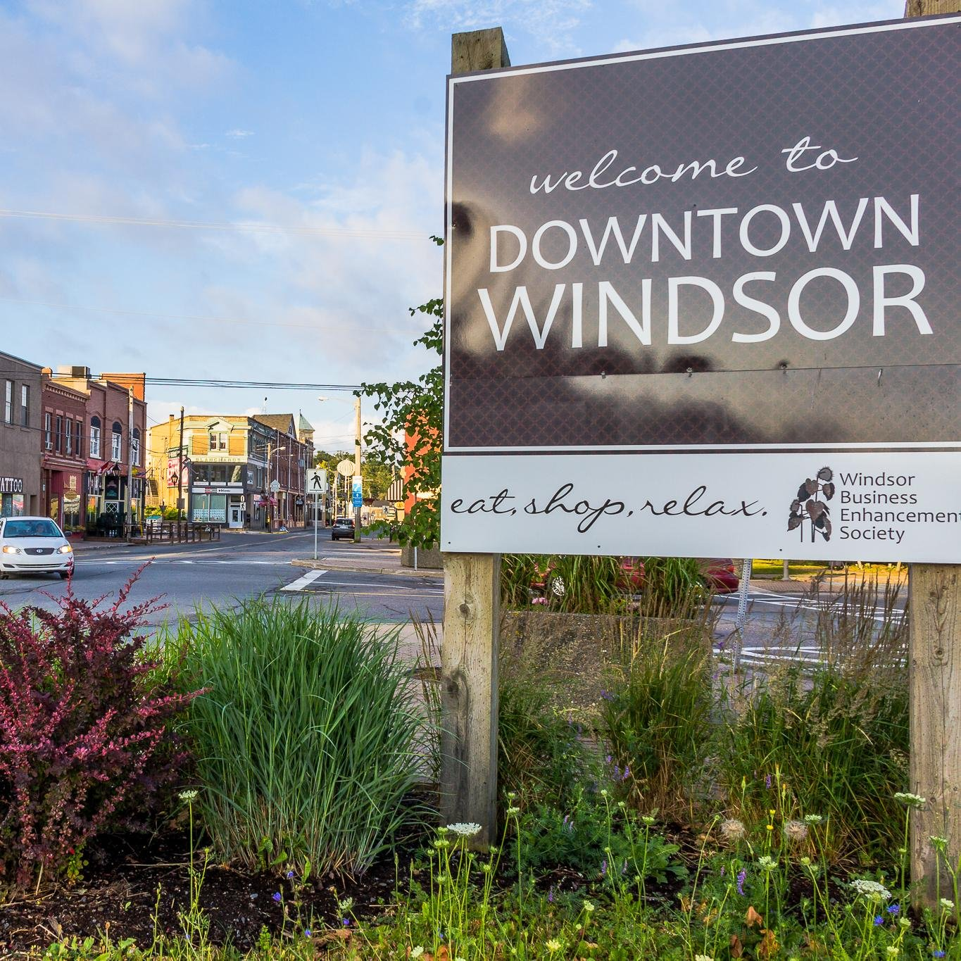 Downtown Windsor, Nova Scotia