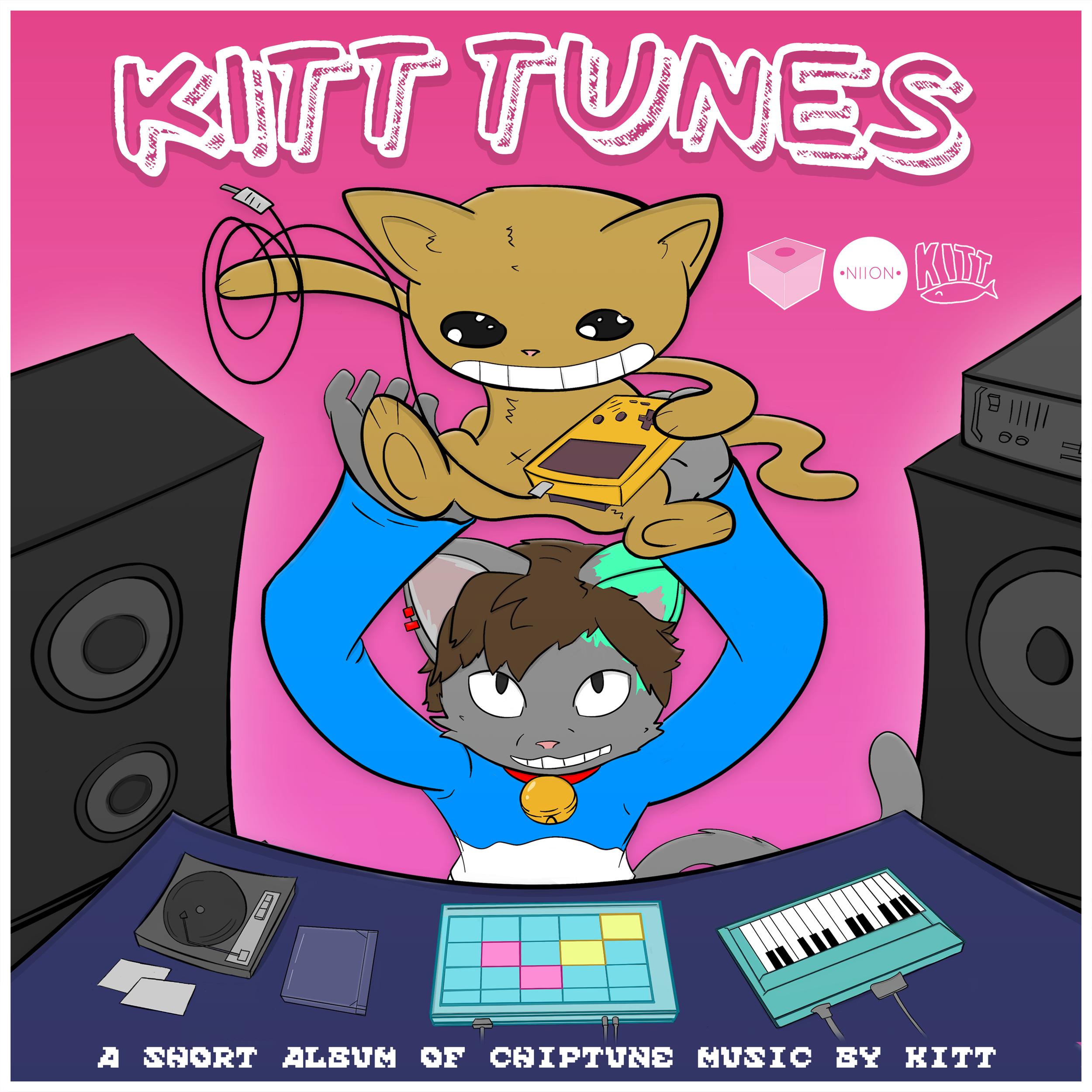 A spin off album of happy chiptunes and lofi music.