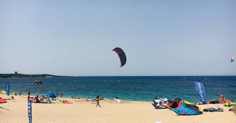 Vignola Mare kite & windsurf beach