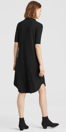 Viscose Jersey Drape Neck Dress 2.JPG