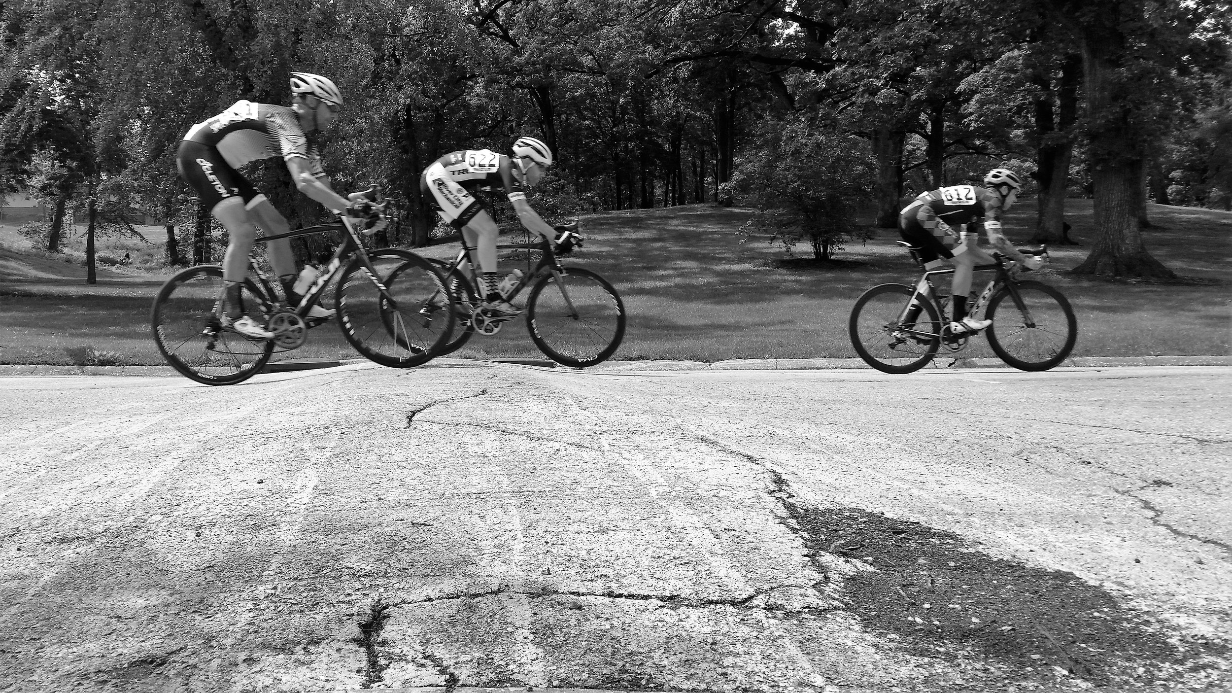Black and White Three Riders at Speed Bump_enhanced cropped_26 May 2019_20190526_113932.jpg
