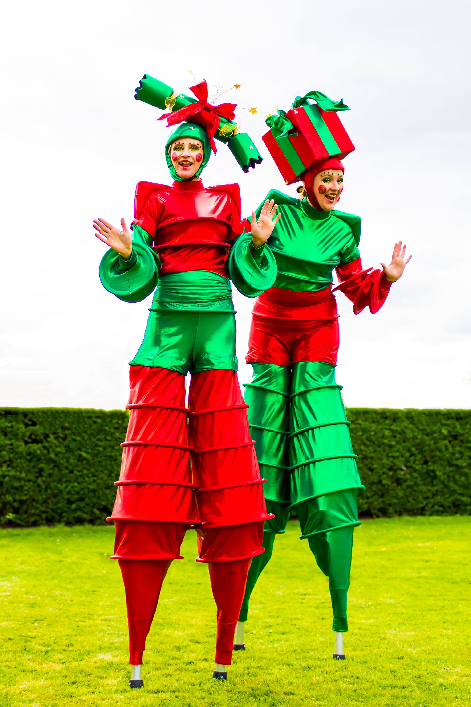 The Christmas Stilt Walkers Tall.jpg