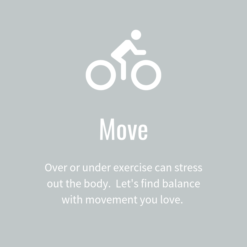 Move your body with Whitney Gingerich Fertility Dietitian