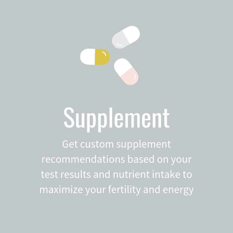 Supplement your body with Whitney Gingerich Fertility Dietitian