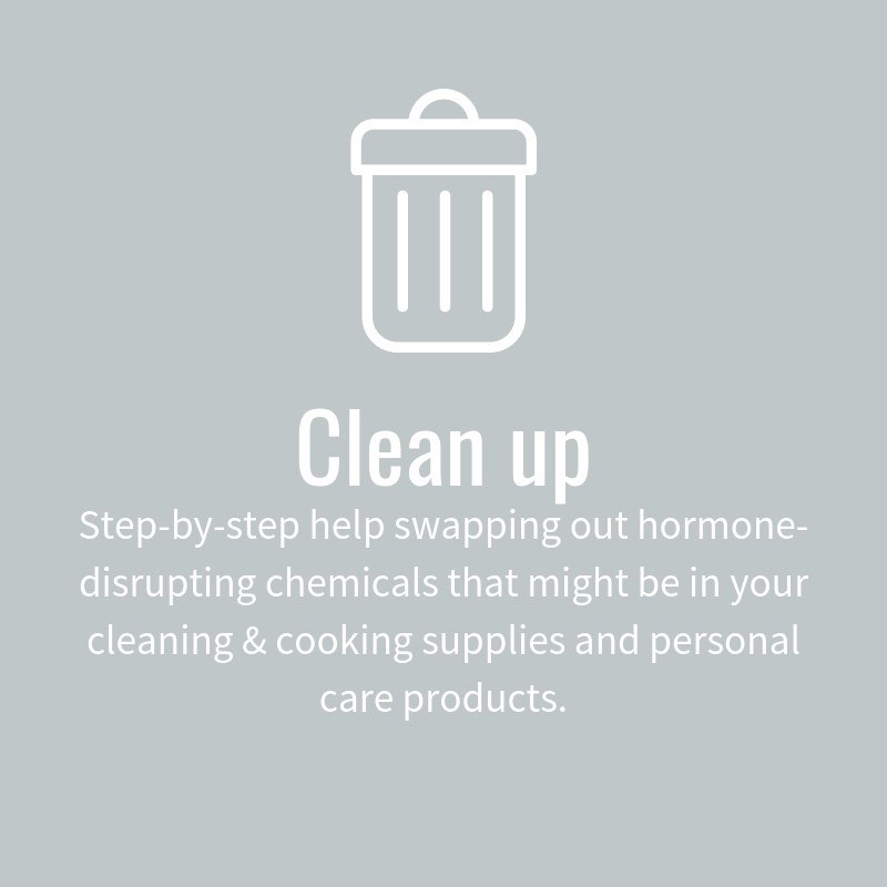 Clean up your body with Whitney Gingerich Fertility Dietitian