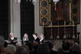 Anonymous 4 singing at Corpus Christi