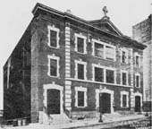 The first church in 1907
