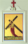 The second Station of the Cross by Valentine d'Ogries