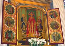 Main altarpiece by Valentine d'Ogries