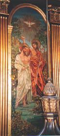 The Baptism of Christ by Frances Railton